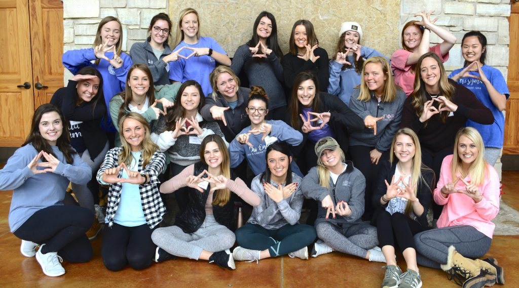 2018 Greek Leaders Retreat Panhellenic Association
