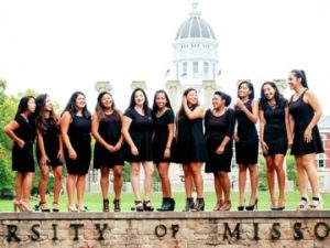 Members of Lambda Theta Alpha