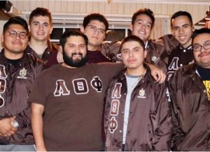 Members of Lambda Theta Phi